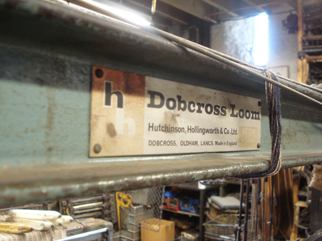Once the workhorse of the British weaving industry, the Dobcross Loom
